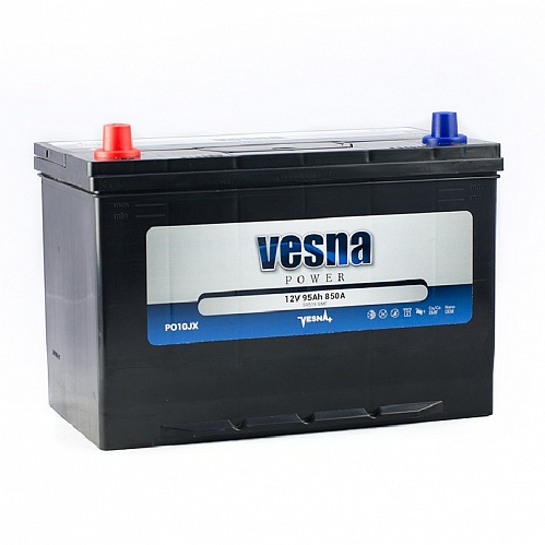 Аккумулятор Vesna Power 95Ah 850A L+ Asia