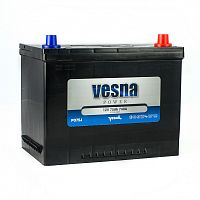 Акумулятор Vesna Power 75Ah 740A R+ Asia 415875